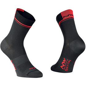 Northwave Logo 2 Cycling Socks red/black